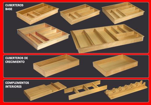 Juypal systems cajones gu as y complementos para la - Interiores de cajones de cocina ...